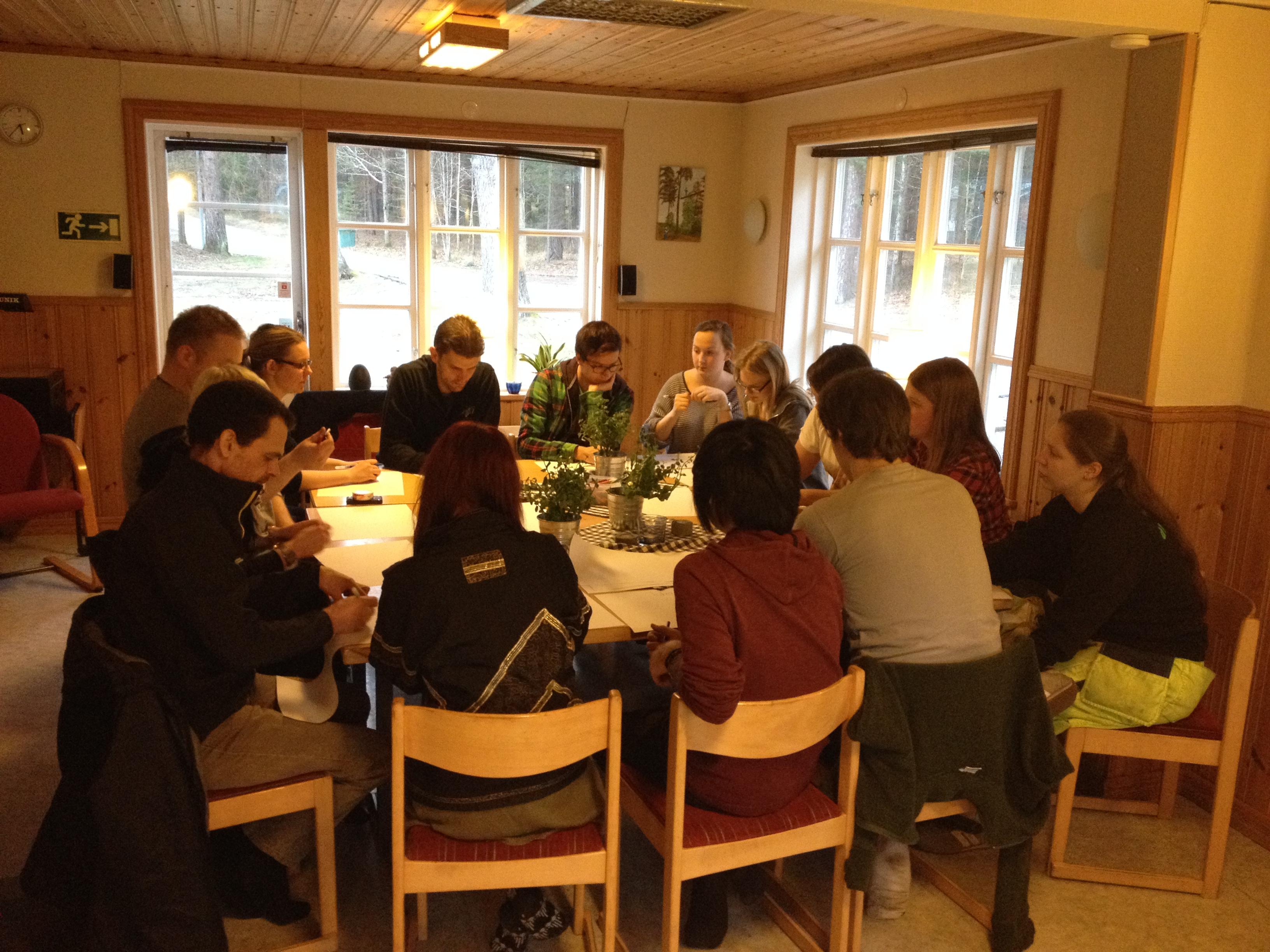 Instruktörsutbildning 2014 KFUM Vidablick